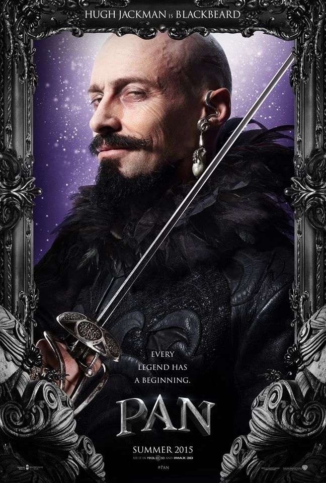 "Hugh Jackman - Facebook ""Pan"""