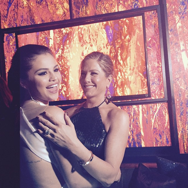 Selena Gomez y Jennifer Aniston - Instagram